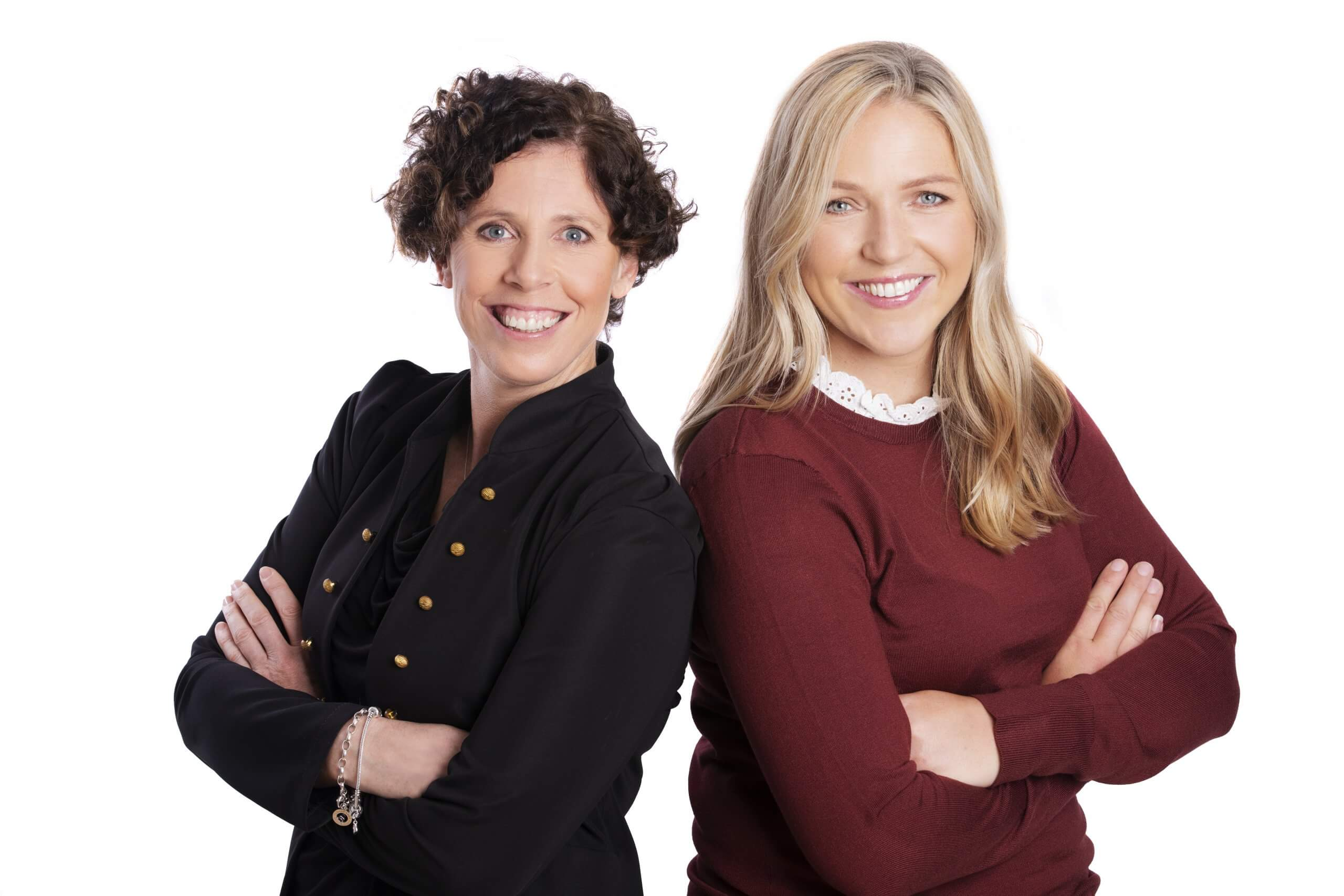 Portrait of Anne and Shaunna