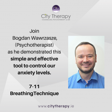 Breathing Technique: Simple and effective tool to control our anxiety and stress levels